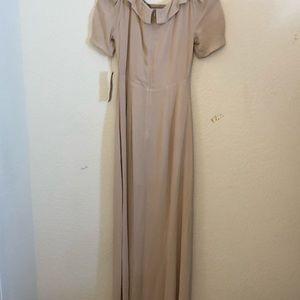 Long reformation dress